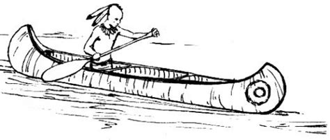 indian canoe coloring page native american indian coloring books coloring pages