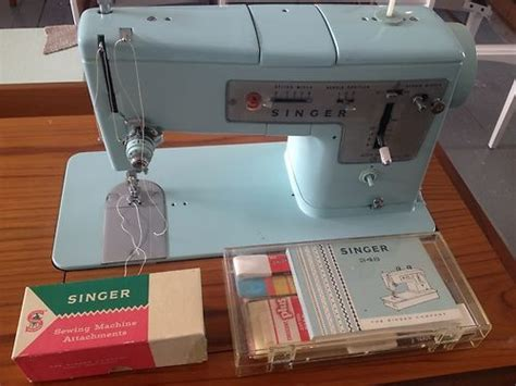 singer sewing machine cabinet styles retro beautiful vintage singer sewing machine in danish
