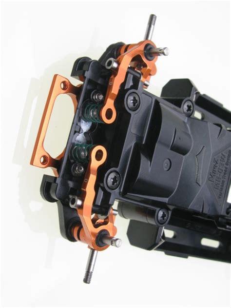 Pn Racing Mr3050ds Mini Z Mr03 A Arm Knuckle Silver pn racing mini z mr03 alum caster arm 0 camber orange