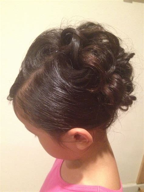 little girl hairstyles updo curly little girl updo hairstyles and updos and lots