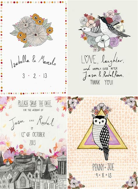 illustrator tutorial wedding invitation illustrated invites by katy smail