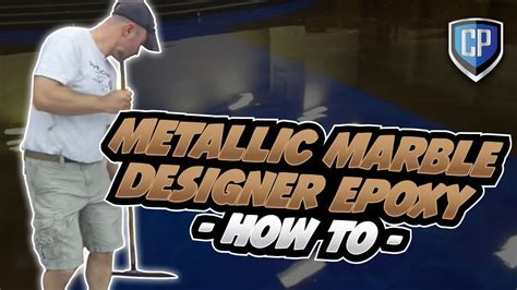 Metallic Marble Designer Epoxy   How To   YouTube