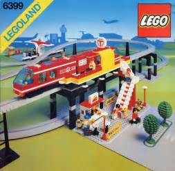 Train Table Sets Town Monorail Brickset Lego Set Guide And Database