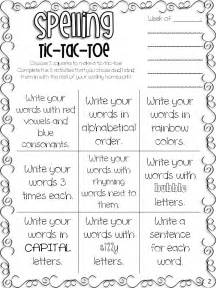 sight words amp spelling tic tac toe freebie all students