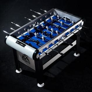 light up foosball table ea sports 56 quot foosball table with led lights