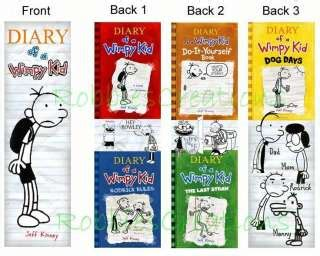 printable bookmarks diary of a wimpy kid kids bookmark on popscreen