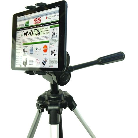 Tripod Tablet Chargercity Portable Tablet Tripod Adapter Mount With 1 4 20 Thread Adapter 360