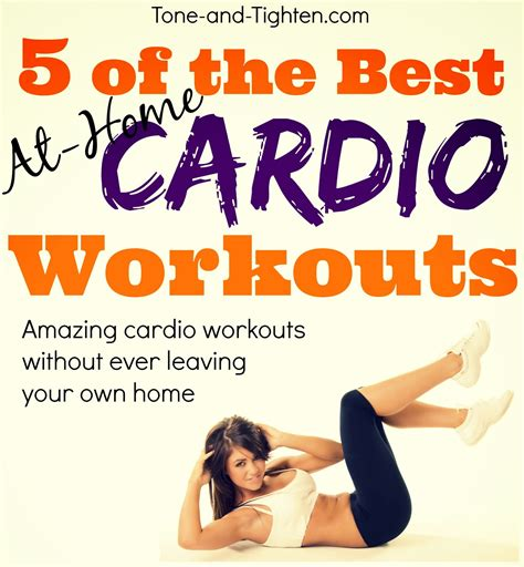 best at home cardio workouts weekly workout plan at