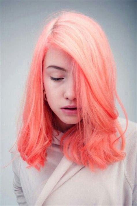 bright orange hair color neon orange hair hair envy pinterest