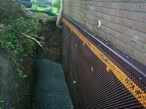 exterior basement waterproofing cost