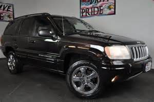 2004 jeep grand limited 2wd leather chrome wheels