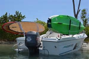 outracker kayak and paddleboard boat rack boat ski