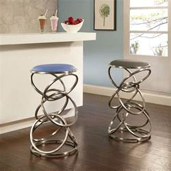 4 contemporary backless counter height bar stools for modern interior design homesfeed