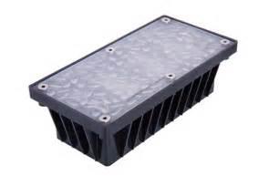 solar brick lights landscape lighting solar led amp 12 v solar powered