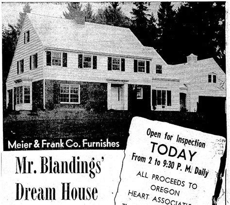 his house mr blandings dream house 1948 vintage portland