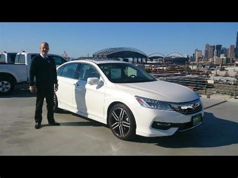 2016 honda accord touring review some serious style for