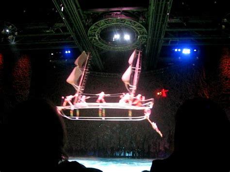boat show las vegas cirque du soleil o show at the bellagio boat scene