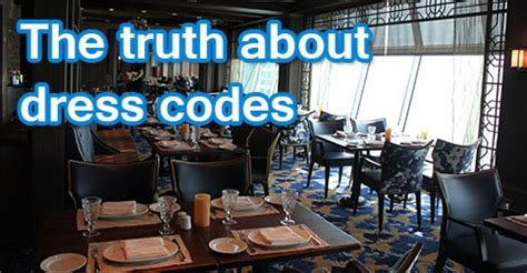 Royal Caribbean Dress Code Dining Room by Time Cruisers The About Dress Codes Royal
