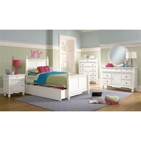 white twin trundle bed seaside white twin bed with trundle value city furniture