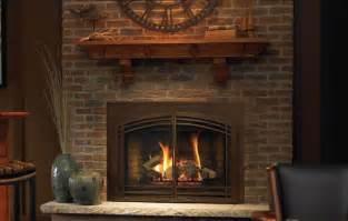 zero clearance wood burning fireplace insert on custom