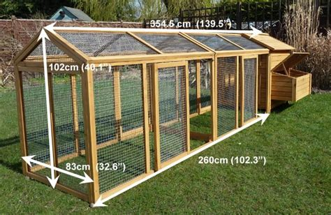 ran homes designs image for chicken coops and runs hen house with large run