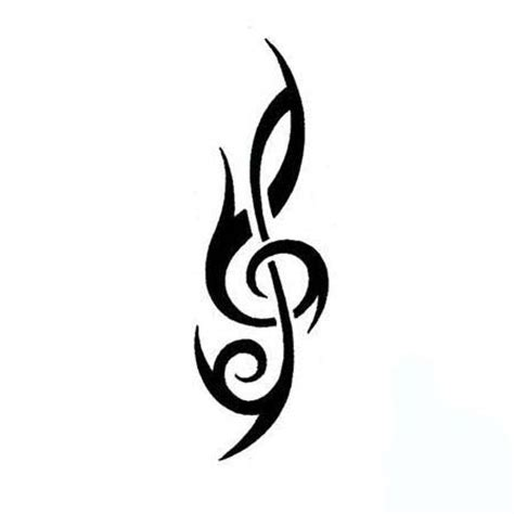 treble tattoo designs treble clef flash clipart best