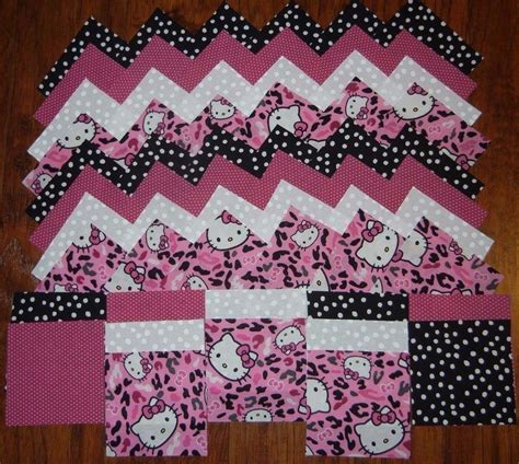 Sewing Quilt Squares by Hello Cheetah Toss 4x4 Fabric Squares Quilt Blocks