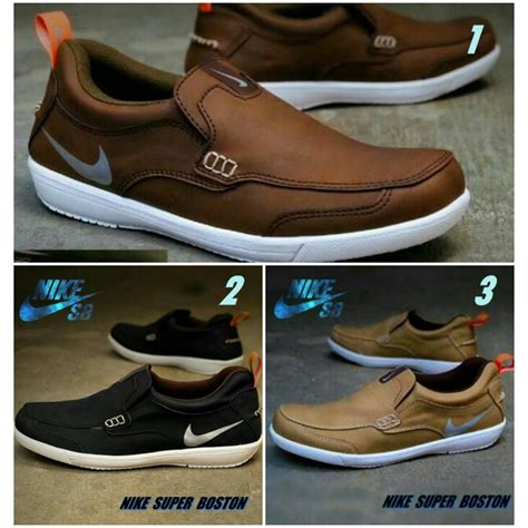 big sale branded sepatu sport nike boston slop casual