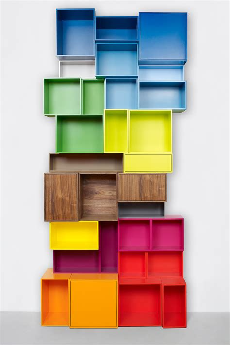 Floating Shelf Bookcase Cubit Configurable Modular Shelving System Homeli