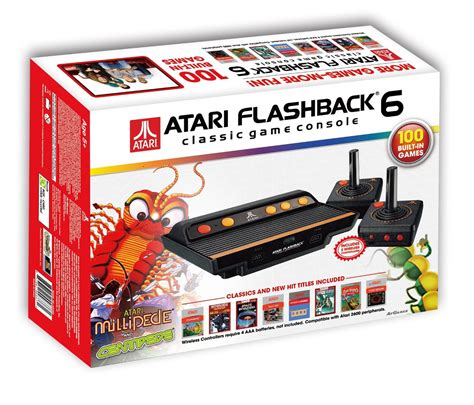 atari classic console atari flashback 6 the official list