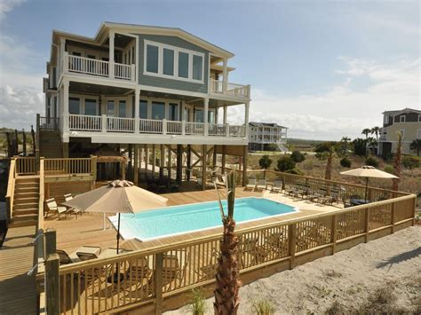 10 bedroom beach vacation rentals large oceanfront home in private estate homeaway