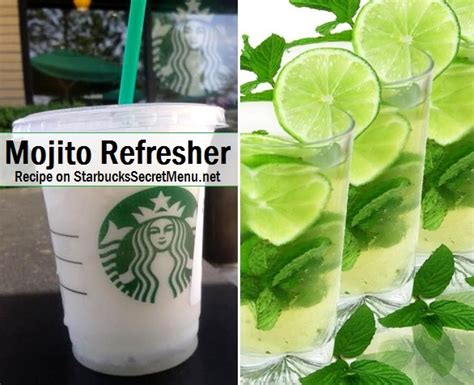 Starbucks Mojito Refresher   Starbucks Secret Menu
