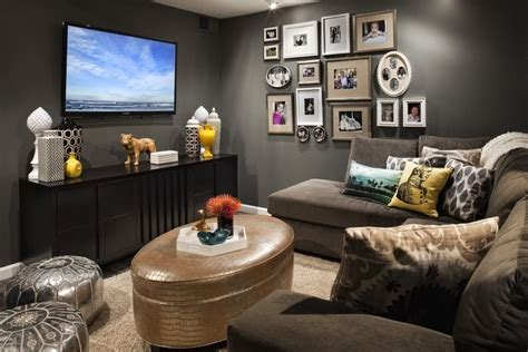 65 salas de tv pequenas decoradas para voc 234 se inspirar