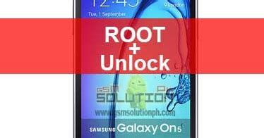 samsung galaxy on5 sm g550t 6.0.1 root and unlock mobile