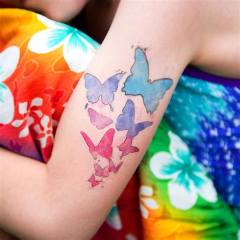 tattoo paper review silhouette temporary tattoo paper clear swing design