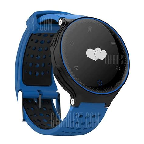 Smartwatch X2 25 with coupon for microwear x2 smartwatch blue from gearbest china secret shopping deals