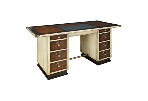 Captain S Writing Desk White Trim Writing Desk White