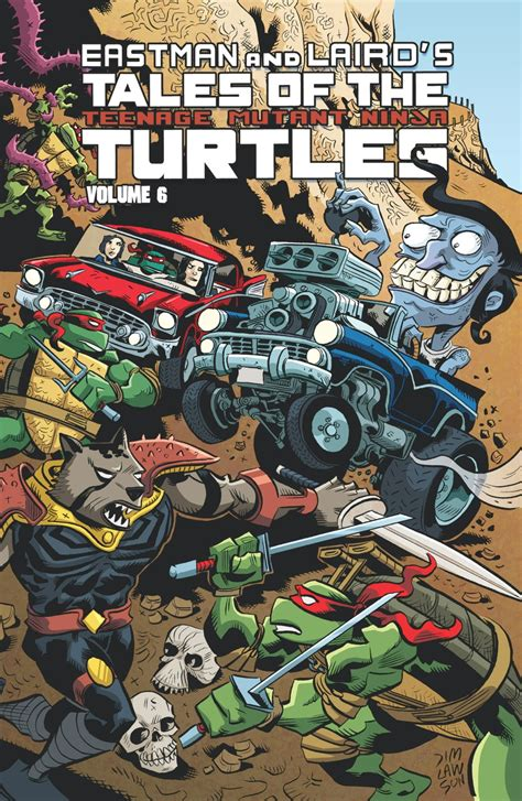 Tales Of The tales of the mutant turtles vol 6 idw