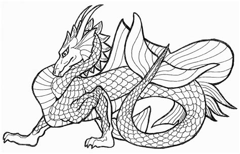 realistic dragon coloring pages coloring home