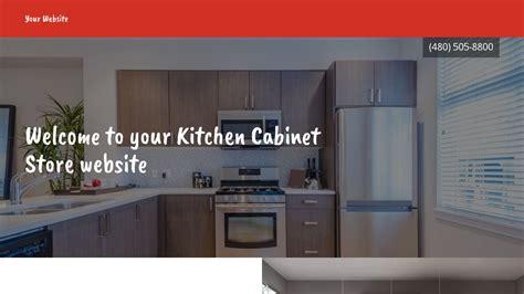 free website templates for kitchen kitchen cabinet store website templates godaddy