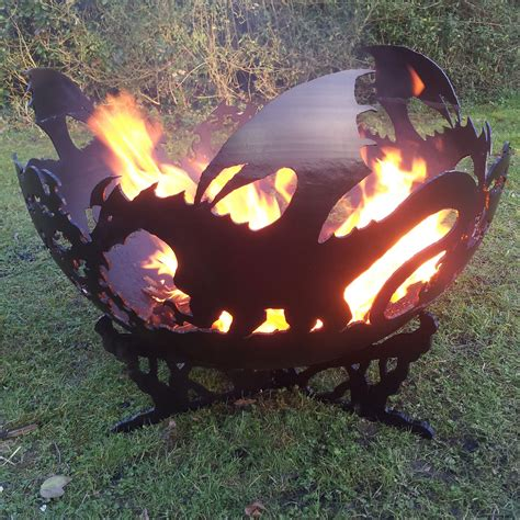 The Pit Company the firepit company dragons bowl a bell outdoor