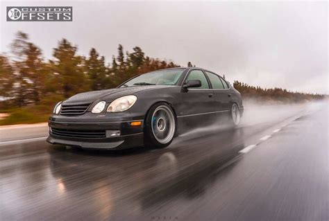 lexus gs300 stance 2002 lexus gs300 enkei rpf1 stance suspension coilovers
