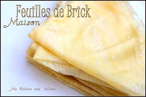 feuilles de brick inratable recettes faciles