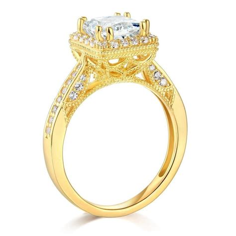 Solid Ring Angka 8 One Way yellow or white gold to choose 14k solid engagement ring tradesy
