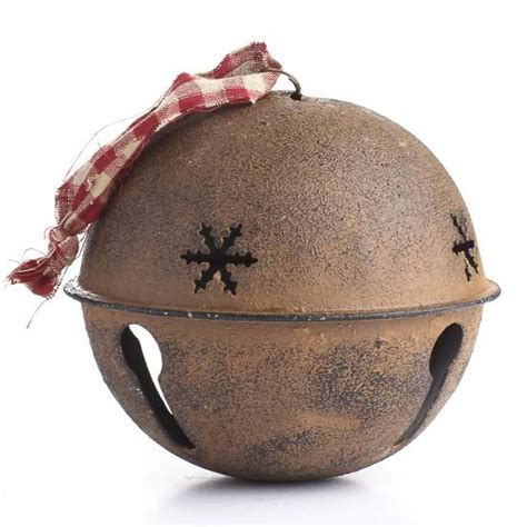 large bell large rustic sleigh bell bells basic craft supplies