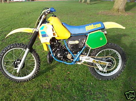 1984 Suzuki Rm250 1984 Rm250 Pictures To Pin On Pinsdaddy