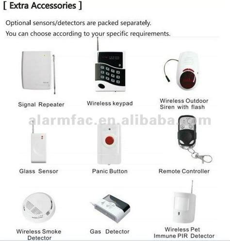 home alarm gsm oem brand service diy alarm system yl
