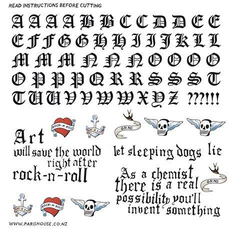 lettere romane tattoovorlagen abc bilder tattoovorlagen