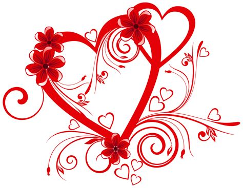 imagenes antic love heart with flowers png clipart gallery yopriceville