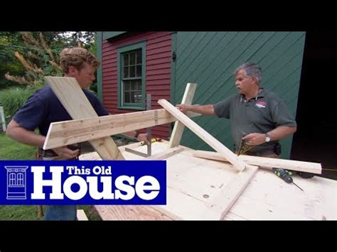 build  picnic table   house youtube